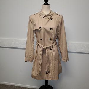 Liz Claiborne Khaki Coat